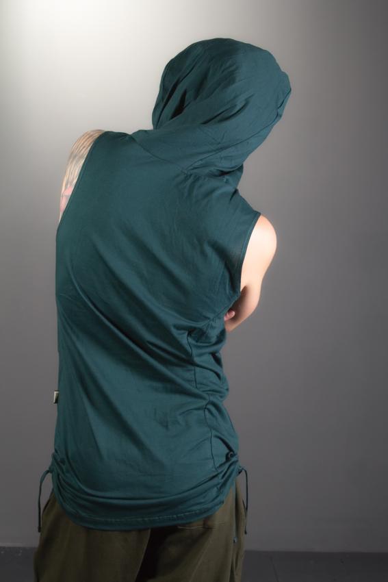 camisole pour homme desert prince de dos vêtmement de festival en fibres biologiques