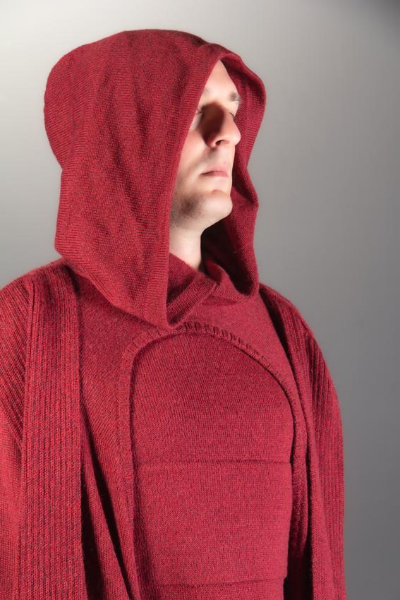 cape palpatine cape poncho avec débardeur grandeur nature cape rouge chaperon rouge