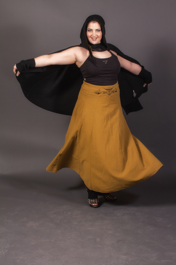 cape poncho elfique noir pour femme cape en laine alpaga
