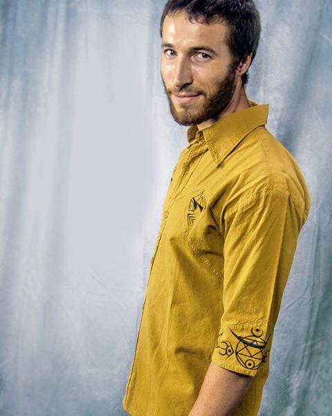 chemise classical spirit desierto chmise pour homme en coton biologique orcre