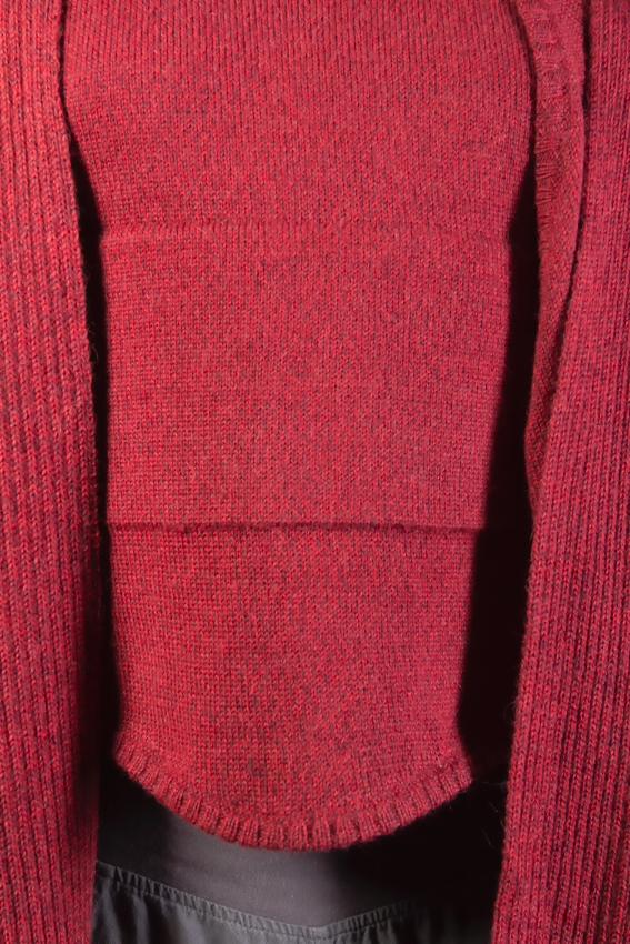 détal poche cape en laine alpaga