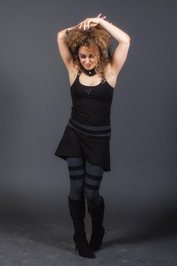 isis camisole ayam trinité leggings vêtement psytrance de festival cyberpunk gothique vêtement fibres naturelles