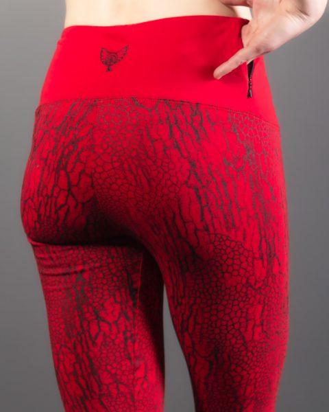 leggings en fibres naturelles ayam creation texture d'écorce vêtement décontracté vêtement de yoga