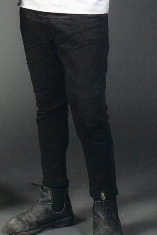 mini ninja pantalon unisexe enfant noir