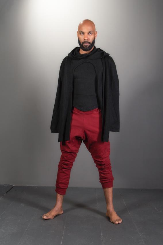 ninja pants rouge pentalon de yoga décontracté pour homme