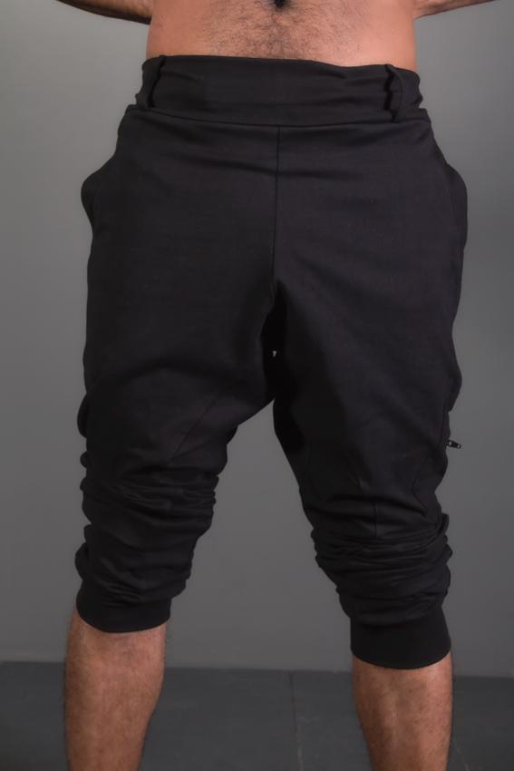 ninja pants sarouel coton extensible pour homme pouvant faire des short