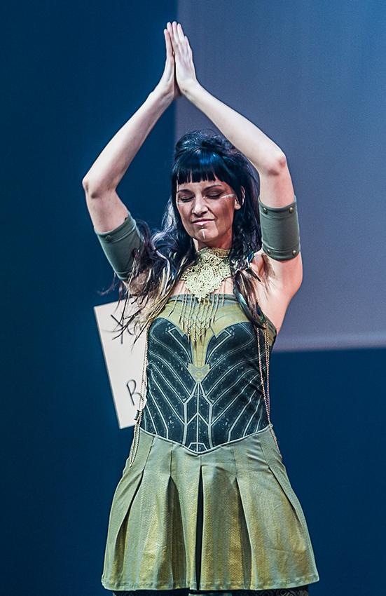 Myriam Lafee designer ayam creation fashion show tohu